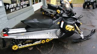 4. Two 2009 Ski Doo Renegade 600 E-Tec Snowmobiles for Sale