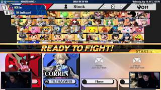 Smash on Tap #90 Smash 4 • May 10th, 2017 • Streamed by LGS https://lgs.gg/ • Live on www.twitch.tv/logicgatestudios Pledge to LGS to support Ontario Smash h...