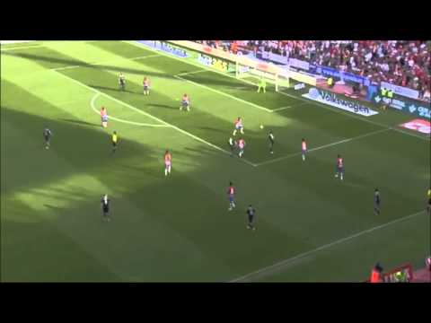 Gol de James ante el Granada