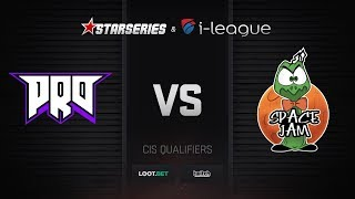 pro100 vs Space Jam, map 2 cobblestone, StarSeries i-League S5 CIS Qualifier