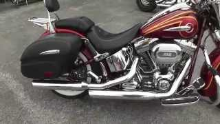 7. 957314 - 2014 Harley Davidson Screamin' Eagle Softail Deluxe CVO - Used Motorcycle For Sale