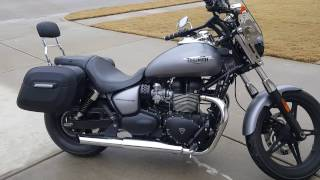 9. 2014 Triumph Speedmaster Hard Saddlebags Reviews - vikingbags.com