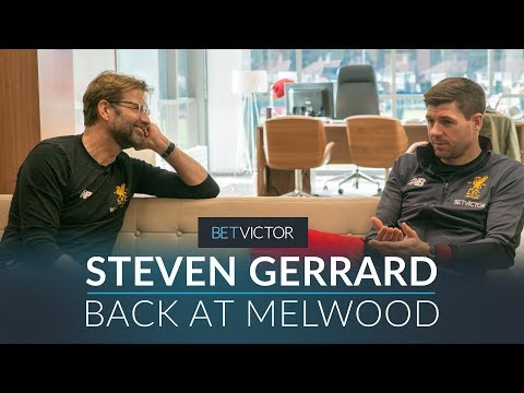 Download Gerrard back at Melwood with Klopp, Carol & Caroline  | THIS IS MELWOOD - Presented by BetVictor