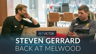 Video Gerrard back at Melwood with Klopp, Carol & Caroline  | THIS IS MELWOOD - Presented by BetVictor MP3, 3GP, MP4, WEBM, AVI, FLV September 2019