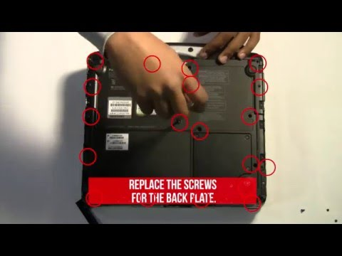 How to Replace the PCMCIA Express Card in a Toughbook CF-30