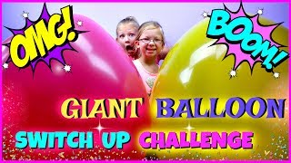 Magic Box Toys Collector presents: Giant Balloon Switch Up Challenge!!! This is our first time using giant balloons for the switch up challenge. Rules are the same like with the lunch box switch up challenge. The only difference is that we cannot peak and check what's inside. We will be just deciding if we want to keep a balloon or switch it with the other person. Who do you think will win this challenge? Please post your comments below and enjoy the show!Thank you again for visiting and please don't forget to share this video with your friends and family : )SUBSCRIBE BUTTON:http://www.youtube.com/c/MagicBoxToysCollectorSurpriseToysSurpriseEggsPlayDohOrbeezHere are our other videos:SHOPKINS SURPRISE EGGS Shopkins Season 4 Sweet Spot Gumball Machinehttps://youtu.be/8zMECGvTPbYBIGGEST SURPRISE EGG Ever! Surprise Toys Eggs Shopkins My Little Pony Doc McStuffins Palace Petshttps://youtu.be/FNLljRlyyvoSURPRISE TOYS GIANT BALLOON POP GIVEAWAY WINNERS ANNOUNCEMENThttps://youtu.be/f02dWmqYwnkBABY ALIVE Snackin' Lily Baby Doll Eats Play-Doh Baby Alive Doll Picnic Brushy Brushy Baby Dollhttps://youtu.be/uxG9NP66IZEDOC McSTUFFINS Pet Vet New Toys Make Me Better Playset Hallie Gets a Color Changing Casthttps://youtu.be/qZ187FqMQWMSHOPKINS SEASON 4 12-Pack Shopkins Season 4 5-Pack Shopkins Season 4 Blind Basketshttps://youtu.be/tIGh0q2fCnkSOFIA THE FIRST Royal Family New Outfits SOFIA THE FIRST Royal Carriage * Carrosse Royalhttps://youtu.be/p9g67lam550MY LIFE AS a School Girl Doll * My Life as a Pop Star Play Set and Accesorieshttps://youtu.be/vPmz1Qfk5QILalaloopsy Girls Candle Slice O'Cake Frosting Dough Decorating Craft Doll * Style'N'Swap Dollhttps://youtu.be/HJTSlOpV6q4BABY ALIVE Better Now Baby Doll Goes to the Doctorhttps://youtu.be/__Bqnt72rU8MY LITTLE PONY POP FLUTTERSHY COTTAGE  My Little Pony RARITY DRESS SHOPhttps://youtu.be/BU3mhXRd0GESOFIA THE FIRST SURPRISE BACKPACK Sofia the First Shopkins My Little Pony Frozen Palace Petshttps://youtu.be/ZYytCIL9b4kBARBIE ORBEEZ
