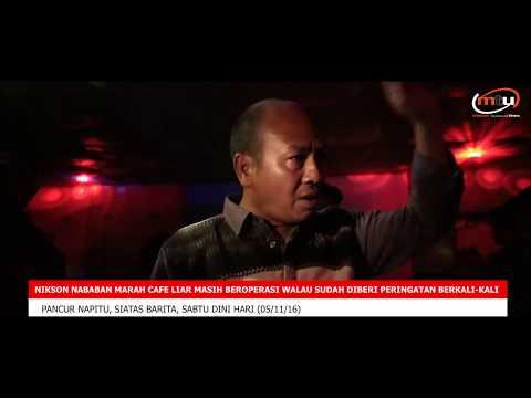 Bupati Tapanuli Utara Marah Dan Tutup Paksa Cafe Tak Berijin