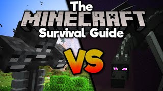 I Got The Wither To Fight The Dragon! • The Minecraft Survival Guide (Tutorial Lets Play) [Part 351]