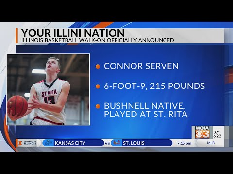 Padilla and Serven confirmed as Illini walk-ons