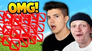TWO YOUTUBERS HACK MINECRAFT BED WARS!