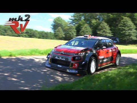 Mikkelsen & Breen Citroën C3 WRC Rallye Deutschland Day 2 Test 2017