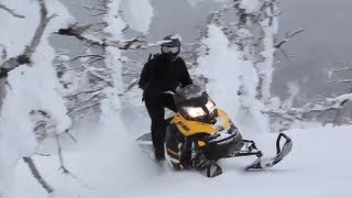 10. 2013 Ski-Doo Summit X Snowmobile Review