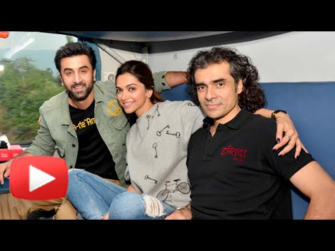 Deepika Padukone & Ranbir Kapoor TRAIN Ride   Tama
