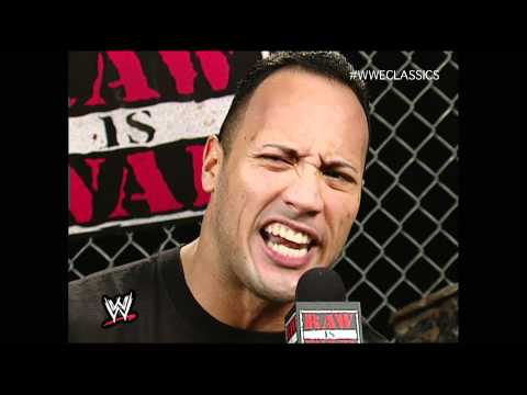 The Rock Promo Raw 12/4/00