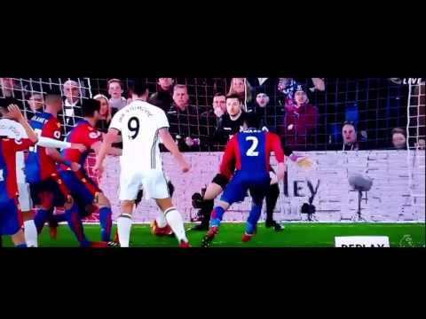 Paul Pogba Goal Vs Crystal Palace (14/12/2016) Manchester United Vs Crystal Palace 1-0