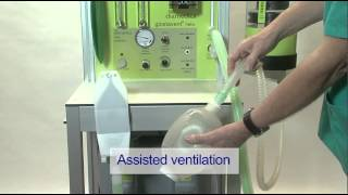 The Glostavent® Helix Anaesthesia Machine