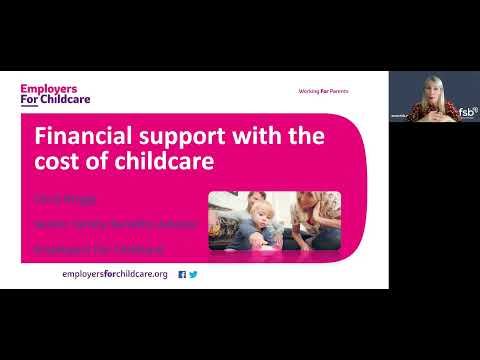 Financial support with childcare costs – FSB NI webinar for employers and employees