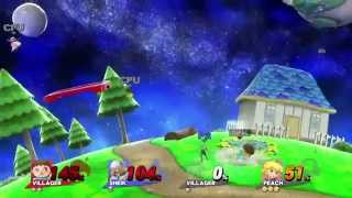 Super Mario Galaxy on the Wii U affects shot projectiles? (4:50)