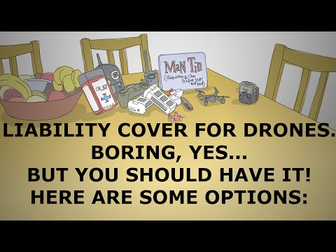Liability insurance for your DJI Phantom or any drone