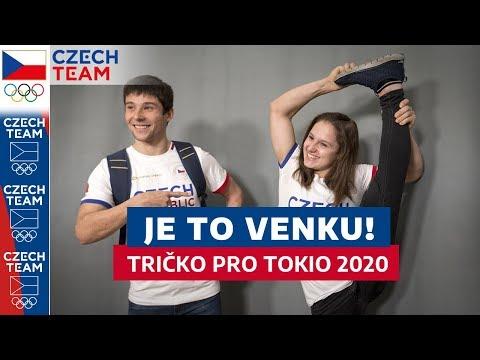 Takhle vypadá tričko pro olympiádu v Tokiu 2020!