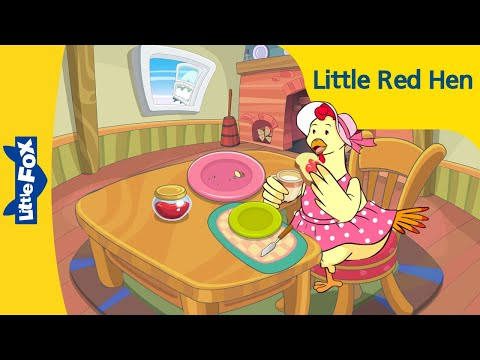 Little Red Hen | Folktales and Fairy Tales | Little Fox | Animated Stories for Kids