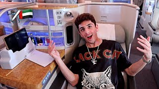 Video MY INSANE $15,000 AIRPLANE SEAT!! (I'M IN DUBAI) MP3, 3GP, MP4, WEBM, AVI, FLV Maret 2019