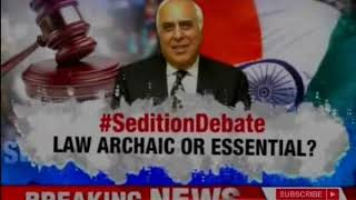 Kapil Sibal demands sedition law to be scrapped; Law Archaic or Essential? | Nation At 9
