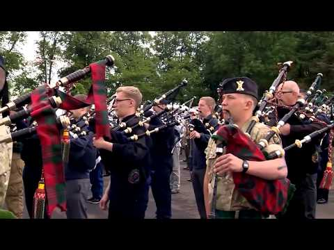 The Orchestra of the Palace Guards in Scotland