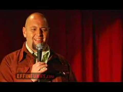 John Evans Effinfunny Stand Up - Immigration Debate