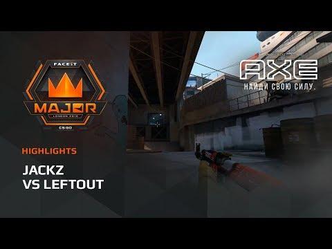 JaCkz vs LeftOut, Europe Minor – FACEIT Major 2018