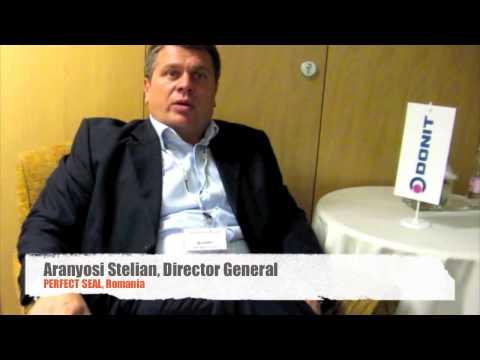 Donit Customer Testimonial: Aranyosi Stelian, Director General at Perfect Seal s.r.l., Romania