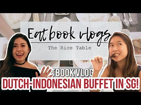14-COURSE DUTCH-INDONESIAN BUFFET FOR $18.95 NETT! - The Rice Table | Eatbook Vlogs | EP 34