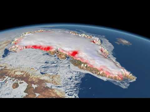 Video - Με επταπλάσια ταχύτητα λιώνουν πλέον οι πάγοι της Γροιλανδίας