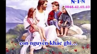 KARAOKE THANH CA VC - BINH AN TRONG JESUS ( DAY KEP)