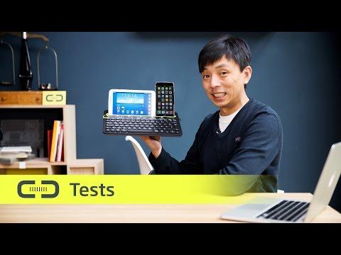 Logitech K480 Bluetooth Tastatur im Test | deutsch