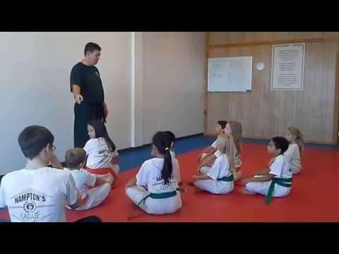 Hampton's Karate Academy - Class Instruction 03
