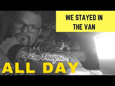 WE STAYED IN THE VAN ALL DAY | Full-Time Van Life