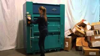 Πρέσσα ανακύκλωσης - baling press APV 100 160