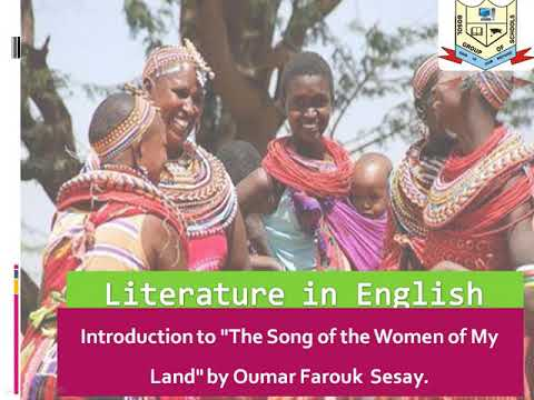 THE SONG OF THE WOMEN OF MY LAND by Omar Farook Sesay
