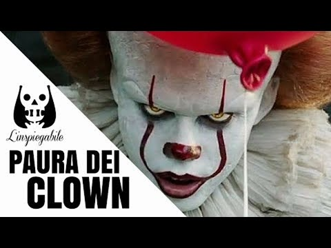 coulrofobia - perchè i clown possono fare paura?
