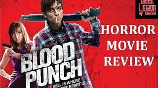 BLOOD PUNCH ( 2014 Milo Cawthorne ) Horror/ Sci-Fi Movie Review
