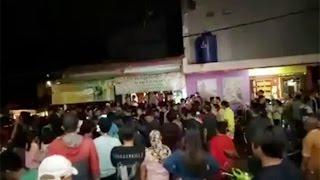Pelaku penodongan akhirnya mampu dilumpuhkan oleh Aiptu Sunaryanto yang saat itu berada di lokasi kejadian. Sunaryanto melepaskan tembakannya ke lengan kanan pelaku, Dalam aksinya, pelaku menyekap dengan senjata tajam kepada penumpang yang tak lain adalah ibu dan balita, Aksi dramatis ini terjadi di lampu merah Buaran, Jln. I Gusti Ngurah Rai, Pulogadung, Jakarta Timur sekitar pukul 19.00 WIB, Minggu malam
