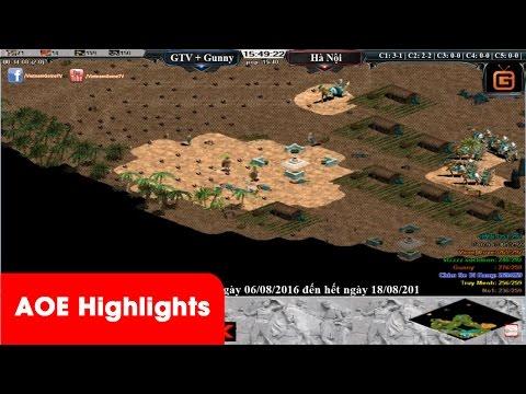 AOE Highlights - Tiết mục ảo thuật đặc sắc xiên Y phá Egyp của đội trưởng team GameTV No1