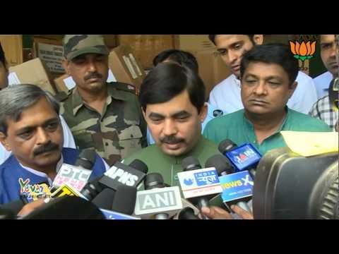BJP Delhi sent Team of Doctors to help people of J&K - Shri Syed Shahnawaz Hussain