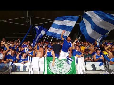 TFC - Cruzeiro 1 x 1 Frangas - Recebimento - Torcida Fanáti-Cruz - Cruzeiro