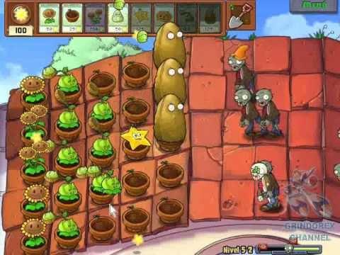 plantas vs zombies level 5 2 espanol guia plantas vs