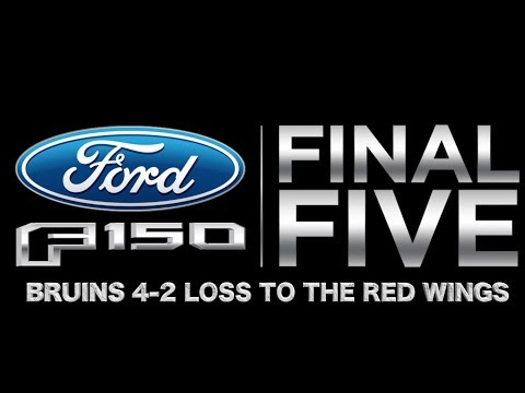 Video: Ford F-150 Final Five Facts: Bruins loss to the Red Wings