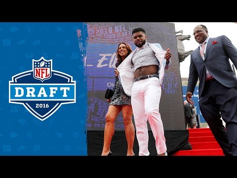 Croppy fashion statement at NFL draft