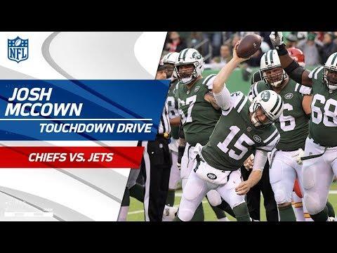 Video: Josh McCown's Massive Plays on TD Drive vs. KC! | Chiefs vs. Jets | NFL Wk 13 Highlights