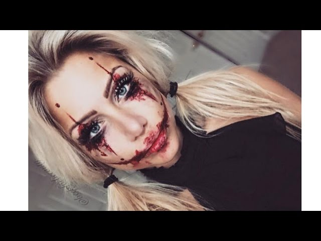 Bloody Halloween Makeup harley quinn the joker inspired halloween ...